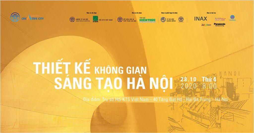 Cuộc thi Thiết kế Không gian sáng tạo Hà Nội